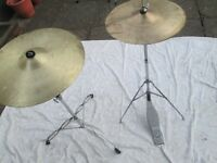Drums - Basic HiHat and Cymbals and Basic Cymbal and Stand