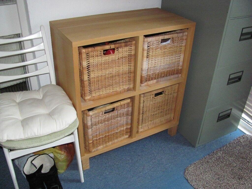 IKEA 4 drawer storage unit