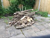 Logs for wood burner, outdoor heater,
