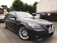 BMW 5 Series 3.0 530d M Sport Touring AUTO SAT/NAV PANORAMIC 6 MONTHS WARRANTY FULL SERVICE HISTORY