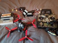 fpv racing quadcopter drone