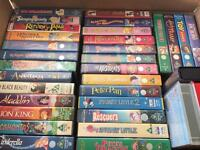 35 VHS video's