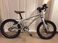 """Early Rider Belter 16"""" child's lightweight pedal bike with belt drive in good condition"""