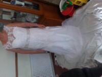 BNWOT wedding dress