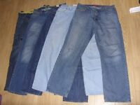 5 x Pairs of Mens Jeans / Denims Bundle - Size 36 x 34 / 36L Great Used Condition - £20 for the Lot