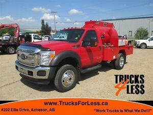 2012 Ford F-550 XLT 4X4, WATER TRUCK!!!