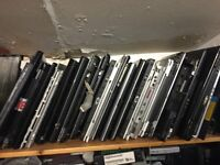 Laptops incomplete or missing parts such as screen HD or memory or keyboard or keys