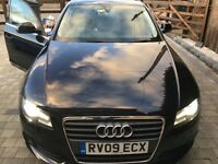 2009 Audi A4 1.8L manual 11 months MOT B&O speakers xenon headlights heated leather seats