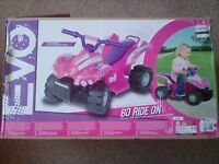 Childs battery operated quad