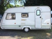 Swift rapide 440 4 berth touring caravan
