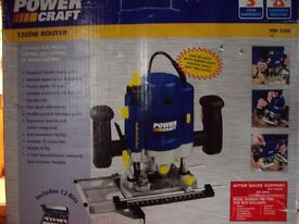 Power craft Router