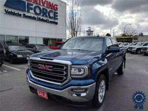 2017 GMC Sierra 1500 SLE Crew Cab 4X4 w/6.5' Box, Remote Start