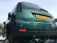 FORD FIESTA ZETEC 2002- FOR PARTS ONLY