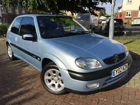 CITROEN SAXO VTR*** New M.O.T & Just Been Serviced*** Just 73,000 Warranted Miles ***