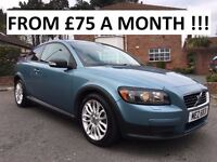 2007 VOLVO C30 S 1.8 ** FINANCE AVAILABLE ** SERVIE HISTORY ** ALL CARDS ACCEPTED