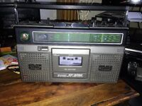 Sharp Ghettoblaster