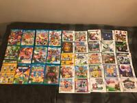 3DS Games, Wii U Games and Limited edition: Zelda Wii U Console with cables (Taking Offers)