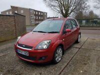 2008 Ford Fiesta, 1.4 Diesel, long MOT, £30 p/year only RoadTax.