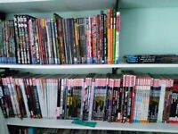 Large collection of DC and Marvel graphic novels and paperbacks - sale as lot or individually