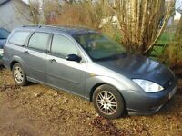 FORD FOCUS 1.8TDCI 2004 METALLIC GREY BREAKING FOR SPARES/PARTS