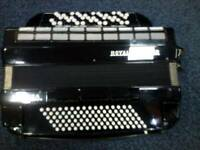Royal standard 5-row button accordion