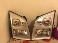 Ford transit MK7 2906-2014 front headlights