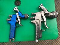 Car body shop tools bundle , spray guns , Palm sanders