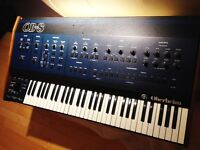 Oberheim OB8 analog synthesizer serviced and Midi
