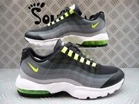 Nike Womens Air Max 95 Ultra Black/Volt/Grey Size 6 UK/EUR 40 New 749212 002