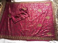 Indian Ethnic Bollywood Beautiful Party WEAR EID Designer Saree Sari Size 560cm £20