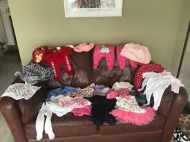 Baby girls 0-3 months clothes bundle