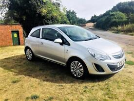 VAUXHALL CORSA 1.2 EXCITE AC, Beautiful Low Mileage Example, MOT May 2019 (silver) 2011