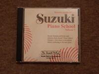 Suzuki Piano School Volume 1 CD