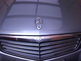 Mercedes 3 Pointed Star Bonnet Emblem