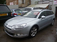Citroen C5 VTR Plus Nav HDI 150,5 door estate,full MOT,runs and drives well,great mpg,all the extras