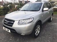 Fantastic Value And Great Condition 2006 Sante Fe 2.2 CRDI 7 Seats 4x4 SUV 115000 Mile FSH HPI Clear