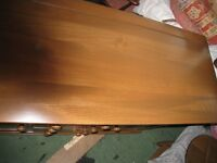 Ercol Lancaster Large Golden Dawn Sideboard Pristine.