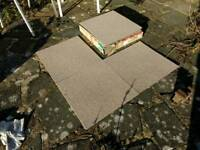 17 new 50x50cm 'Almond' carpet tiles, FREE local delivery.