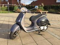 Vespa GT 200 registered as 125 cc great runner 1 year mot