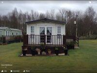 Abi Westwood static caravan situated at Halleaths caravan park, Lochmaben, Dumfries and Galloway
