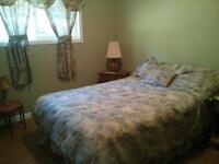 Quiet upstairs bedroom in attractive home