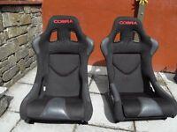 Cobra Imola Bucket Seats