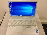 i3 4GB Ram Fast Like New Sony vaio Laptop 320GB,Window10,Microsoft office,Ready,Excellent condition
