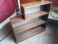 Neat Little Solid Wood Bookcase
