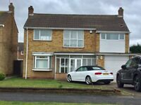 Refurbished three bedroom detached available now