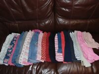 massive bundle job lot of baby girl clothes 9-12 months just under 100 items