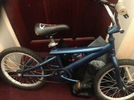 Bike currently blue , needs fixed up £10 pound no offers