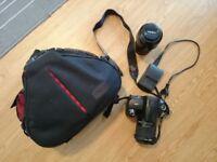 DSLR Camera (Standard Kit) Sony Alpha 290 + Minolta Telescopic Lens + 8gb Memory Card + Caden Bag