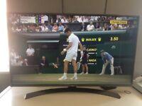 LG 43 inch 4k HDR tv