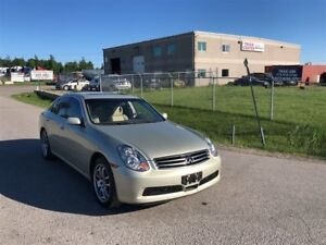 2005 Infiniti G35 Luxury / AWD  / SPORT / CLEAN INSIDE AND OUT